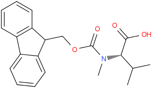 (S)-2-((((9H-Fluoren-9-yl)methoxy)carbonyl)(methyl)amino)-3-methylbutanoic acid